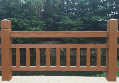 仿木护栏漆