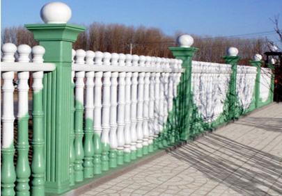 实色艺术围栏漆